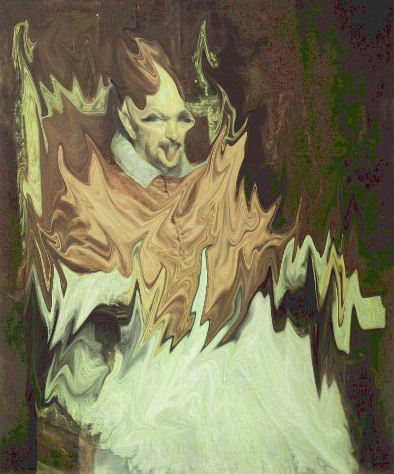 Screaming Pope in the Style of Francis Bacon ... Francis Bacon Artist Screaming Pope